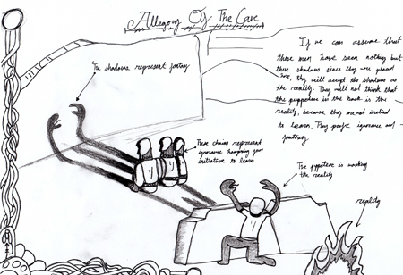Synthesis of truman show and platos allegory of the cave essay